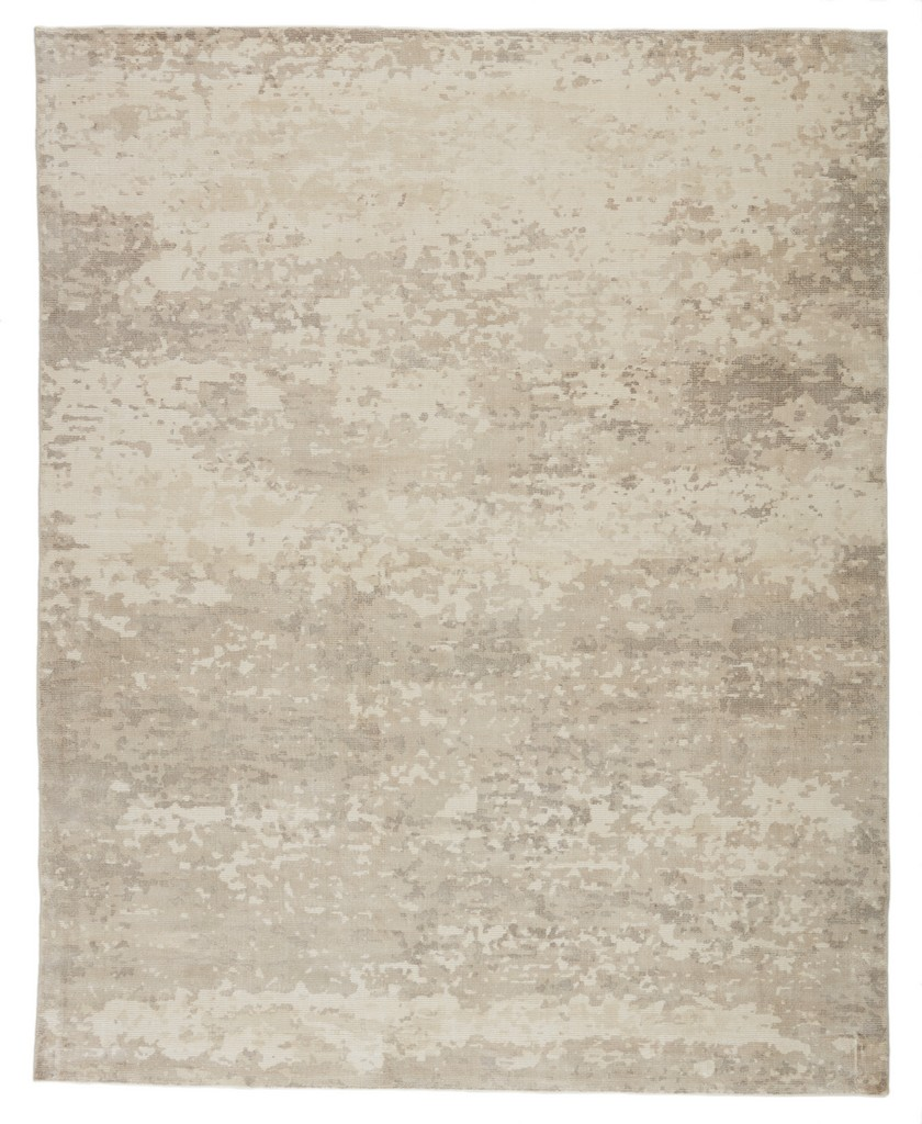 Barclay Butera by Jaipur Living Retreat Handmade Abstract Light Gray/ Ivory Area Rug (5