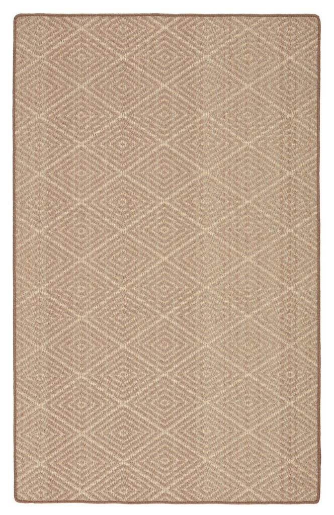 Barclay Butera by Jaipur Living Pacific Natural Trellis Beige/ Light Gray Area Rug (5