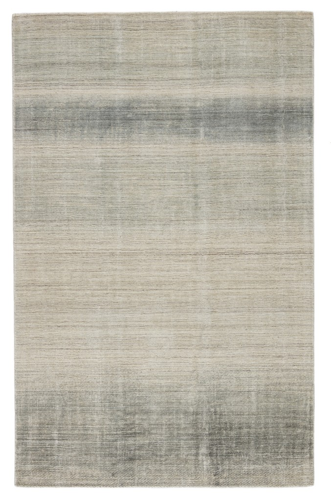 Barclay Butera by Jaipur Living Bayshores Handmade Ombre Gray/ Beige Area Rug (5