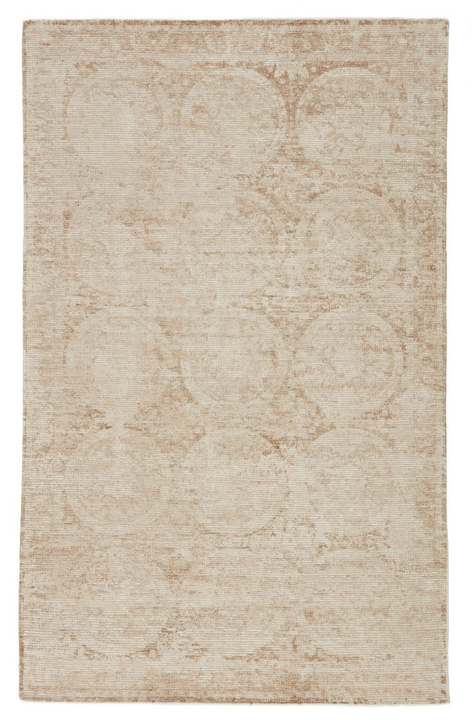 Barclay Butera by Jaipur Living Crescent Handmade Medallion Beige/ Ivory Area Rug (5