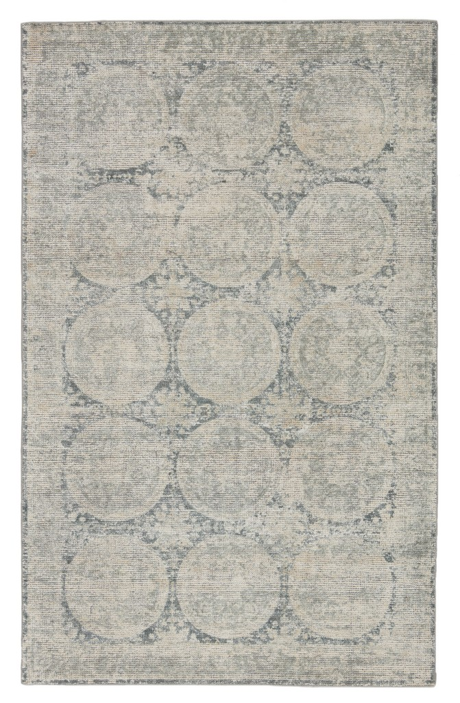 Barclay Butera by Jaipur Living Crescent Handmade Medallion Blue/ Gray Area Rug (5