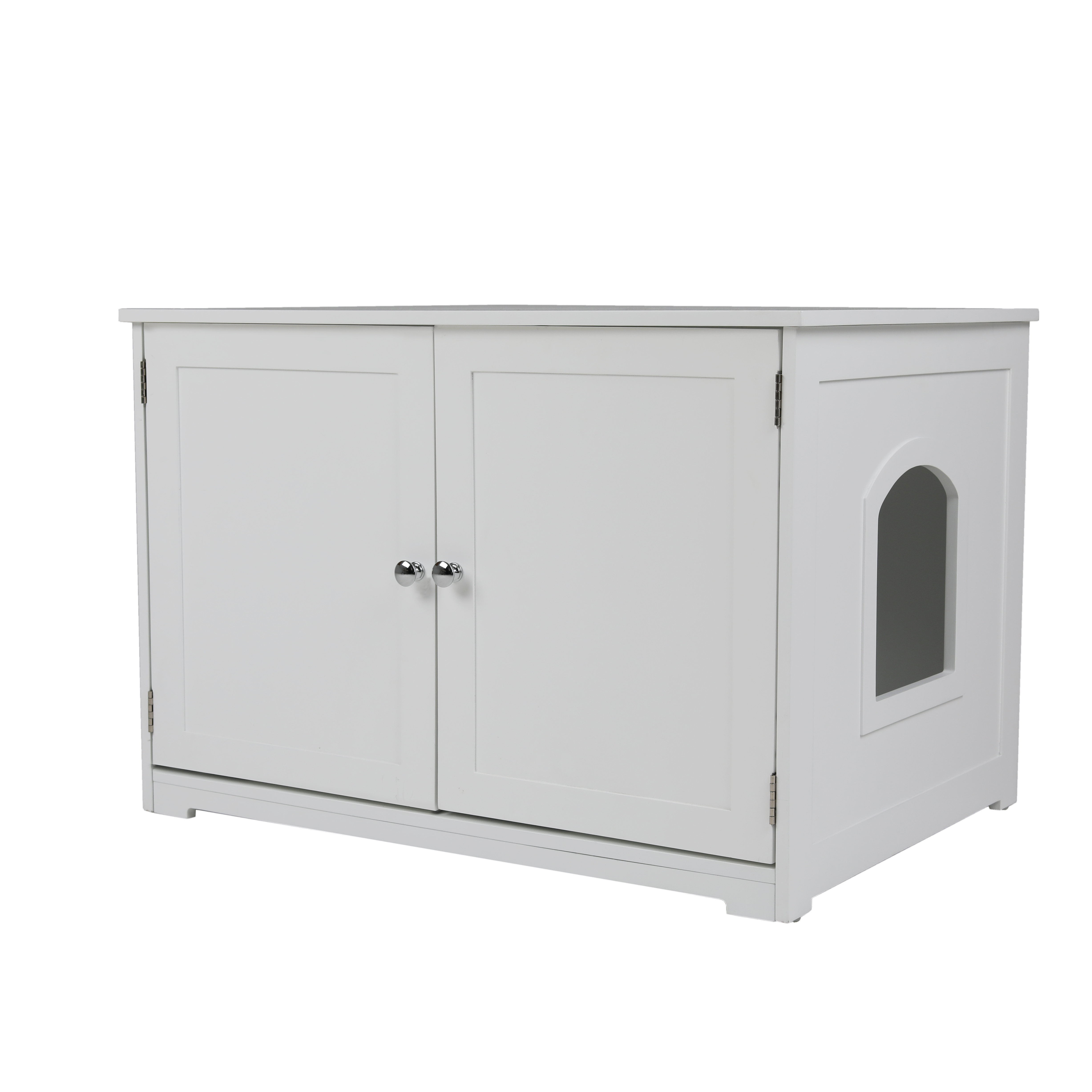 Kitty Litter Loo Bench in White - Zoovilla PTH1051720100