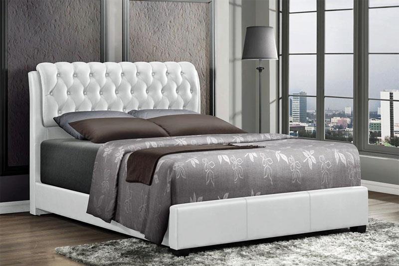 MYCO Furniture 2955Q-WH