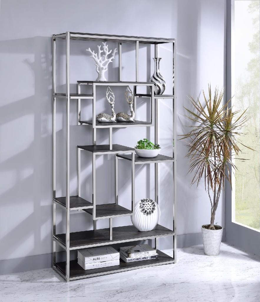 Allaire Bookshelf, Gray - MYCO AL105