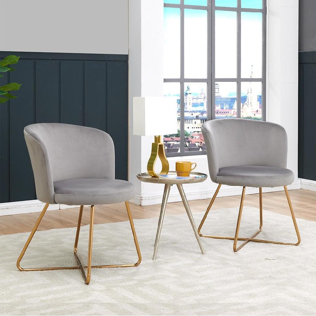 Alexa Accent Chair (Set of 2) - MYCO AL9000-GY