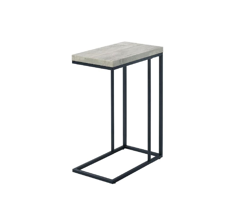 Amelia Chair Side End Table, Taupe - MYCO AM100