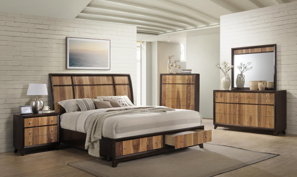 Myco Storage Platform Queen Bed