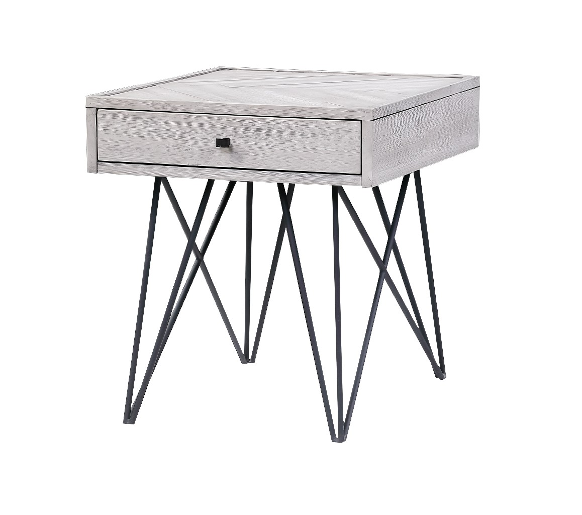 Aspen Court II One Drawer End Table - Coast to Coast Imports 48203