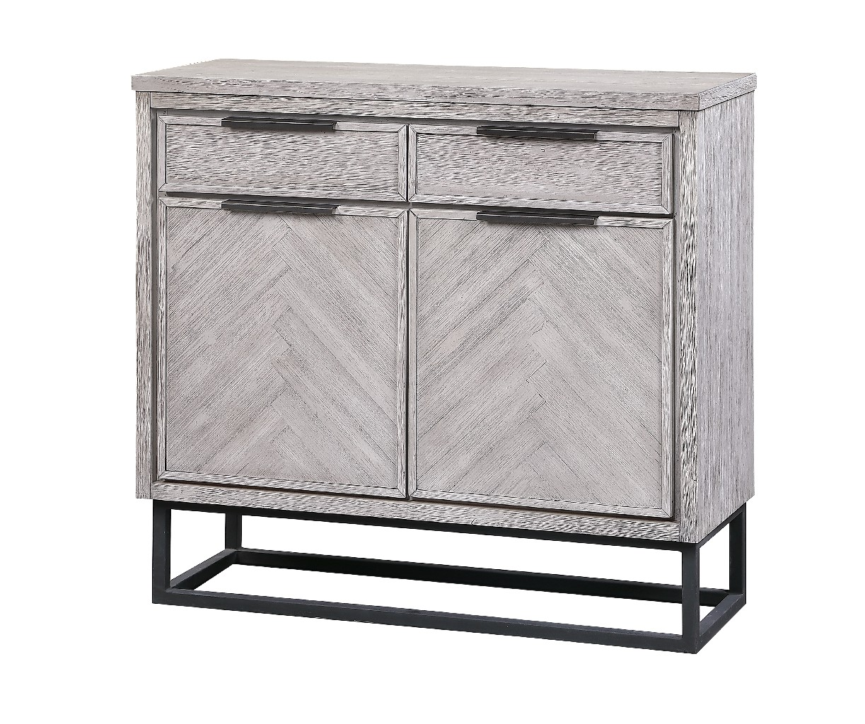 Aspen Court II Two Door Two Drawer Cabinet - Coast to Coast Imports 48208