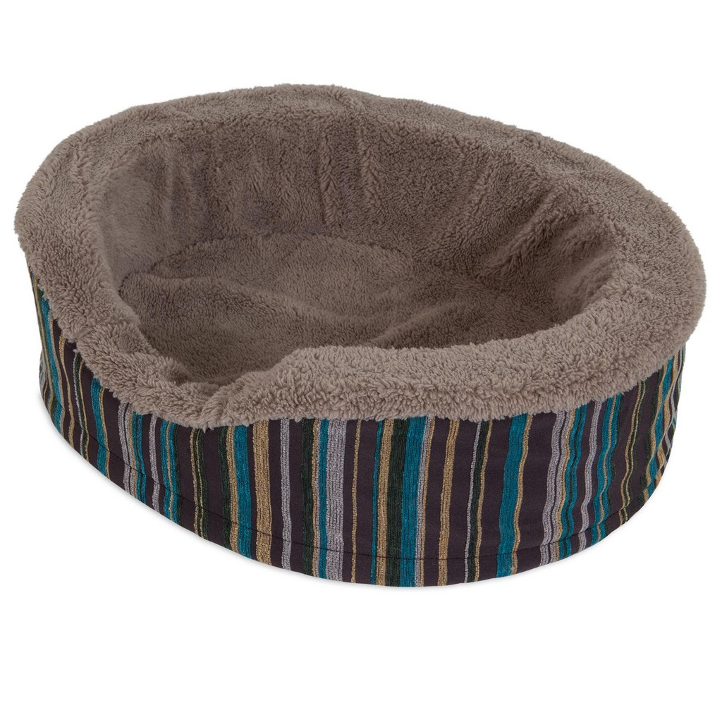 """ASPEN PET ANTIMICROBIAL DELUXE 18"""" OVAL - Petmate 27483"""