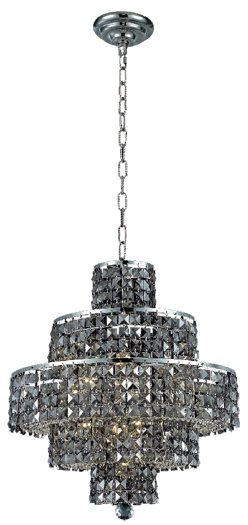 Lighting Chrome Chandelier Light Shade