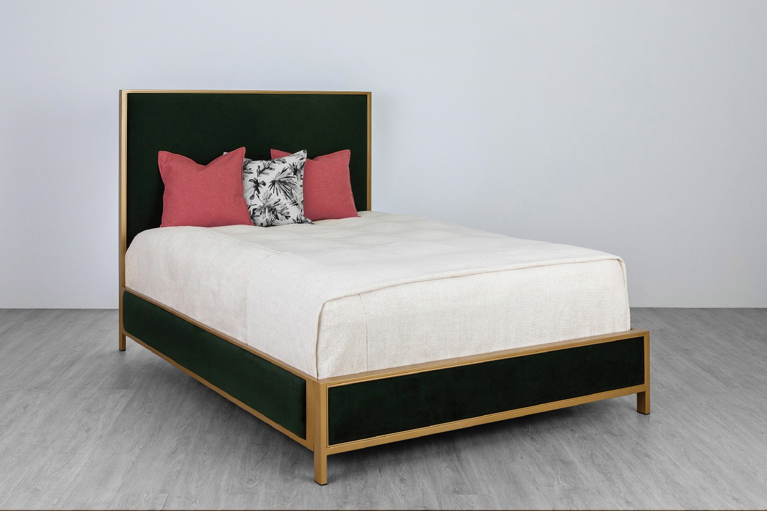 Marty Metal Platform Bed Headboard