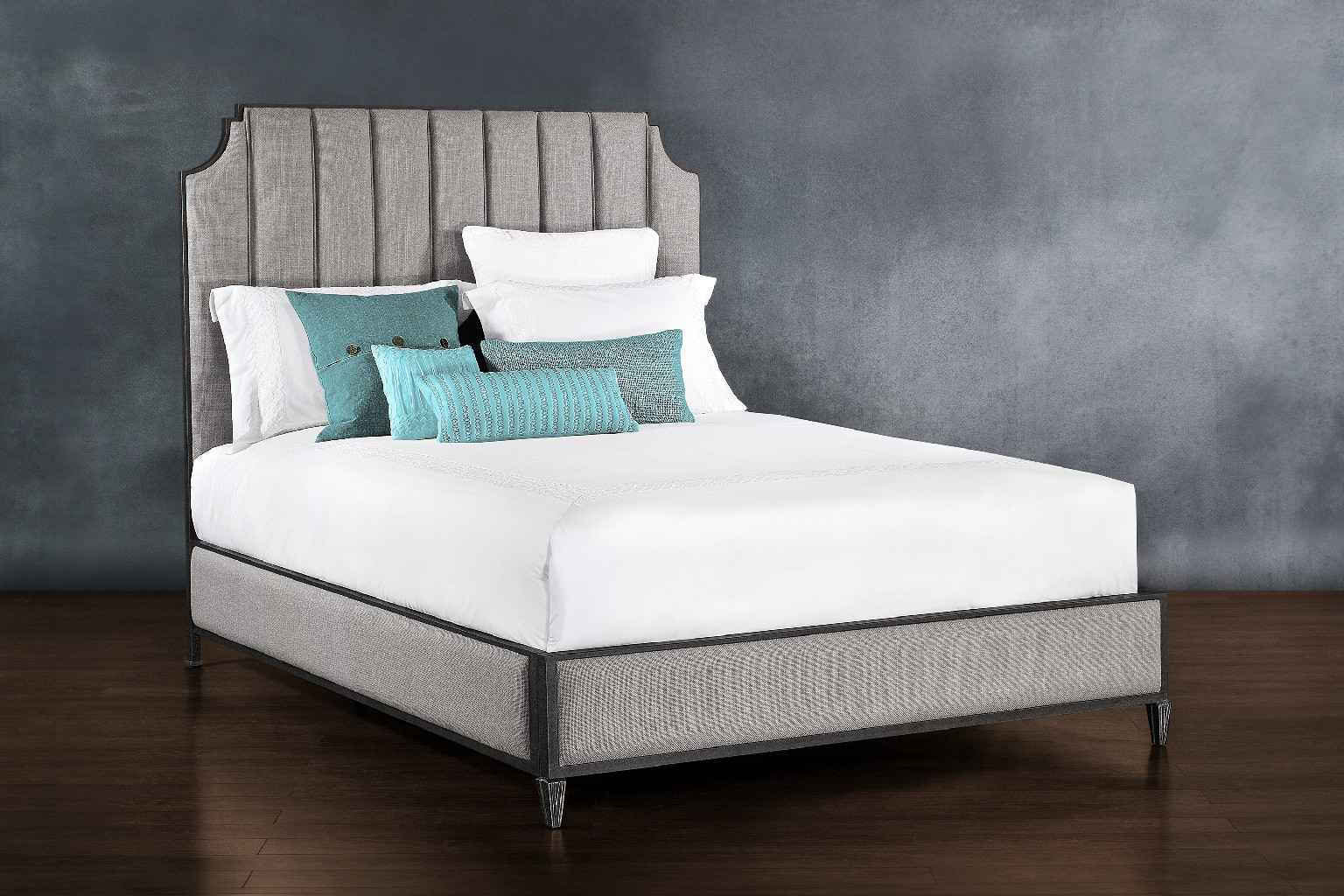Susie Metal Platform Bed Headboard