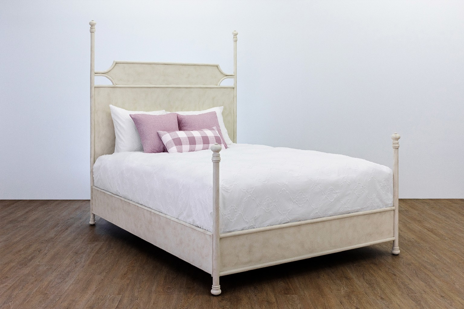 Taylor Gray Home Liana Metal Platform Bed Headboard