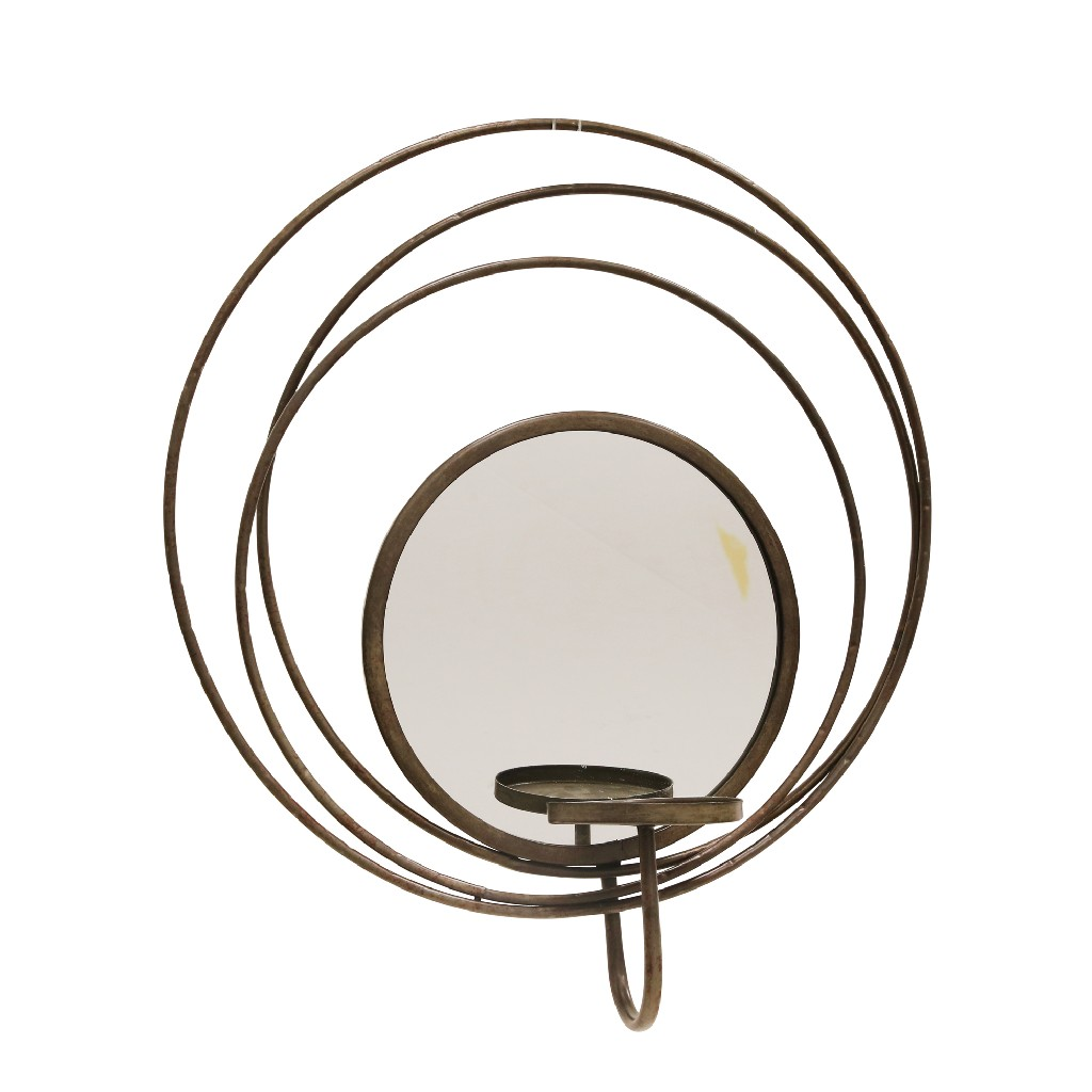 Candle | Holder | Mirror | Sconce | Silver | Home