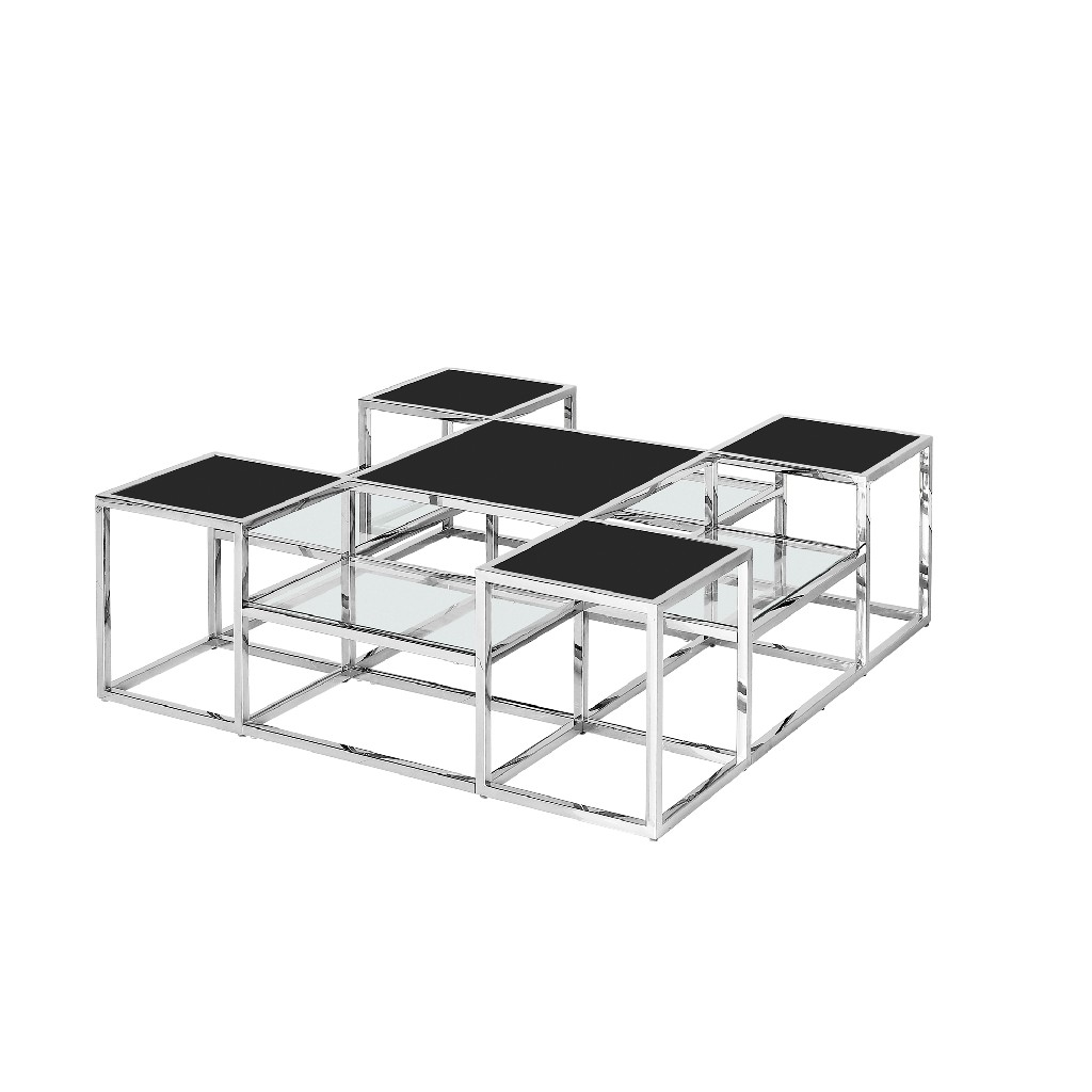 Stainless   Cocktail   Silver   Steel   Glass   Black   Home
