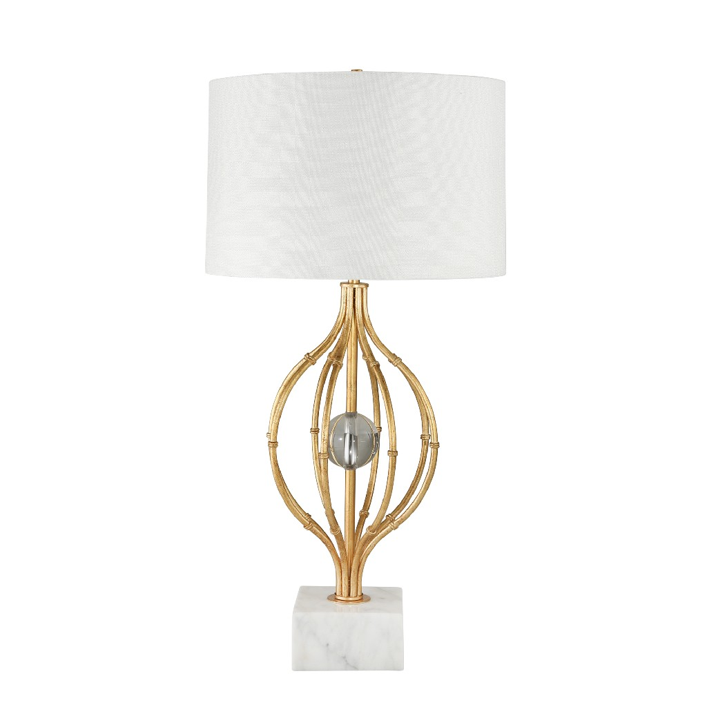 Crystal   Sphere   Metal   Table   Cage   Lamp   Home   Ball   Gold