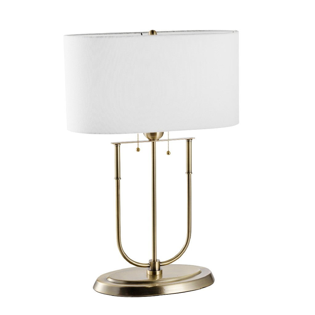 Brass   Metal   Table   Lamp   Home