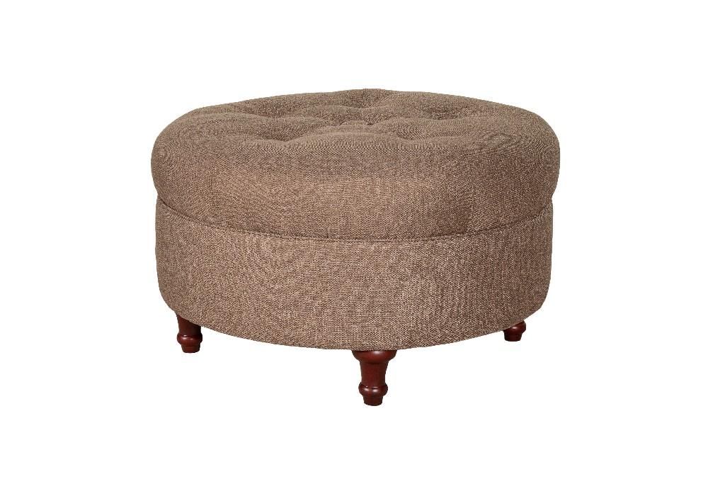 Alexander Upholstered Ottoman in Lisburn Rattan - Leffler Home 12000-36-04-01
