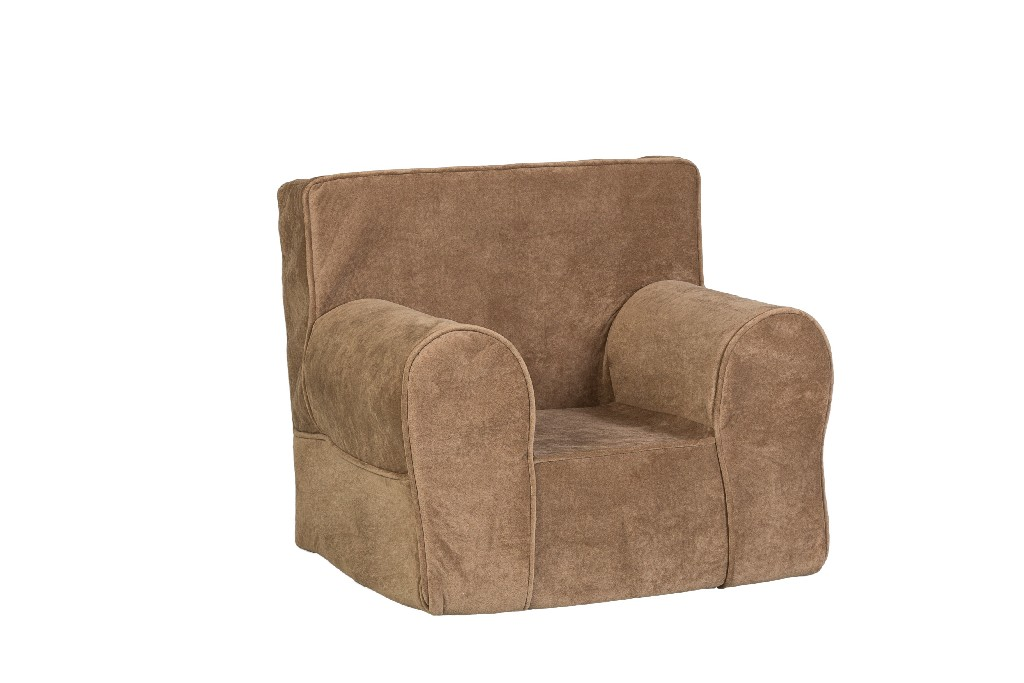 All Mine Personalized Kids Chair in Donna Coffee - Leffler Home 14000-21-11-03