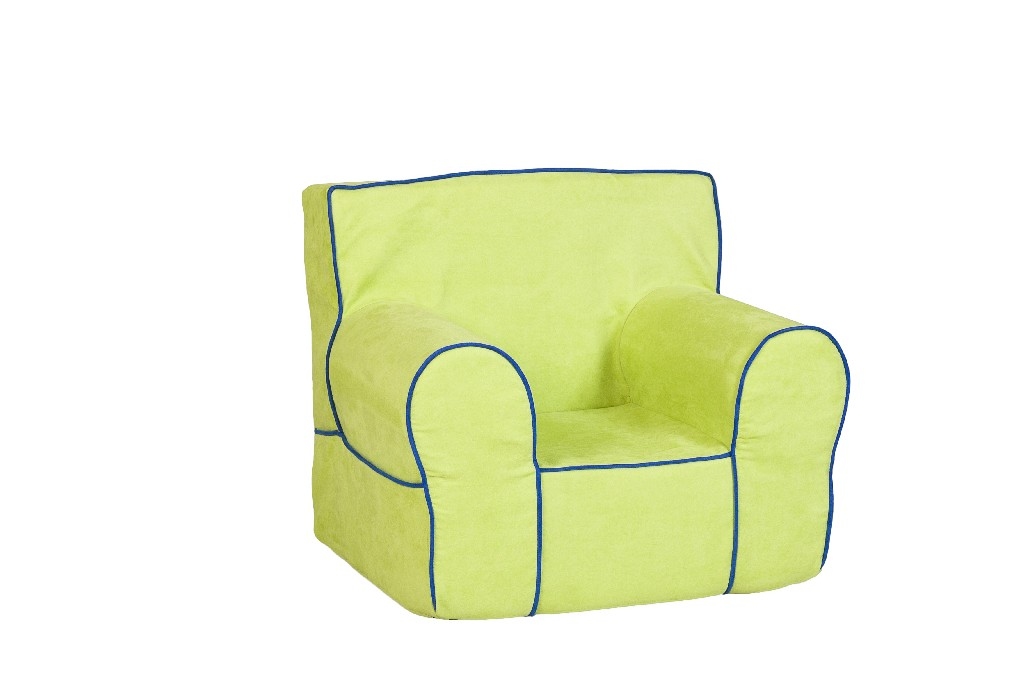 All Mine Personalized Kids Chair in Montana Sour Apple - Leffler Home 14000-21-60-03