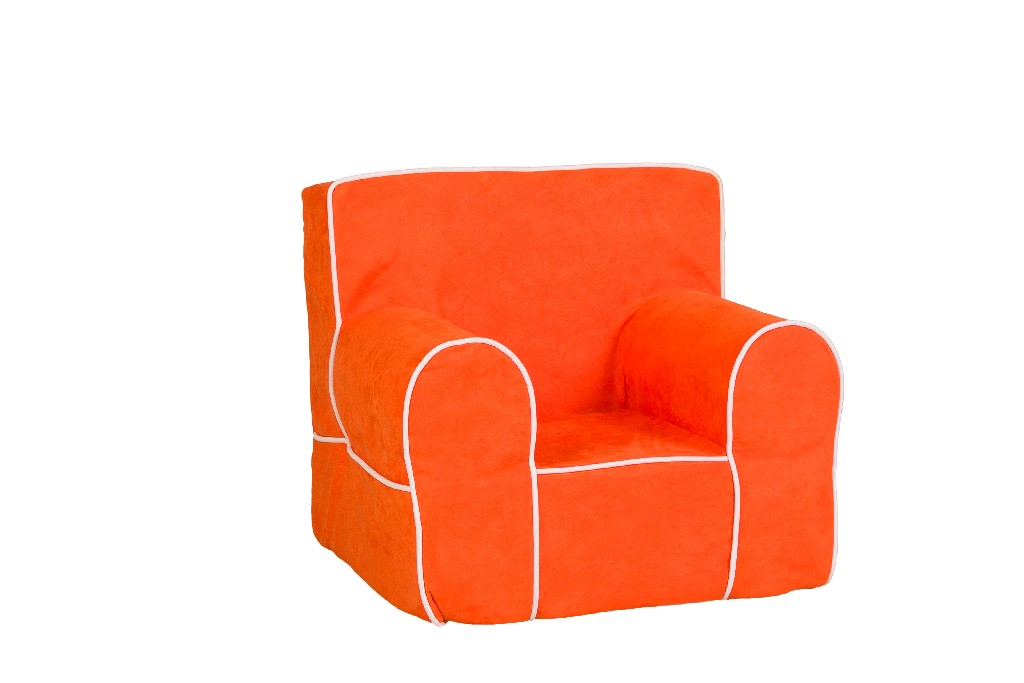 All Mine Personalized Kids Chair in Montana Orange - Leffler Home 14000-21-61-03