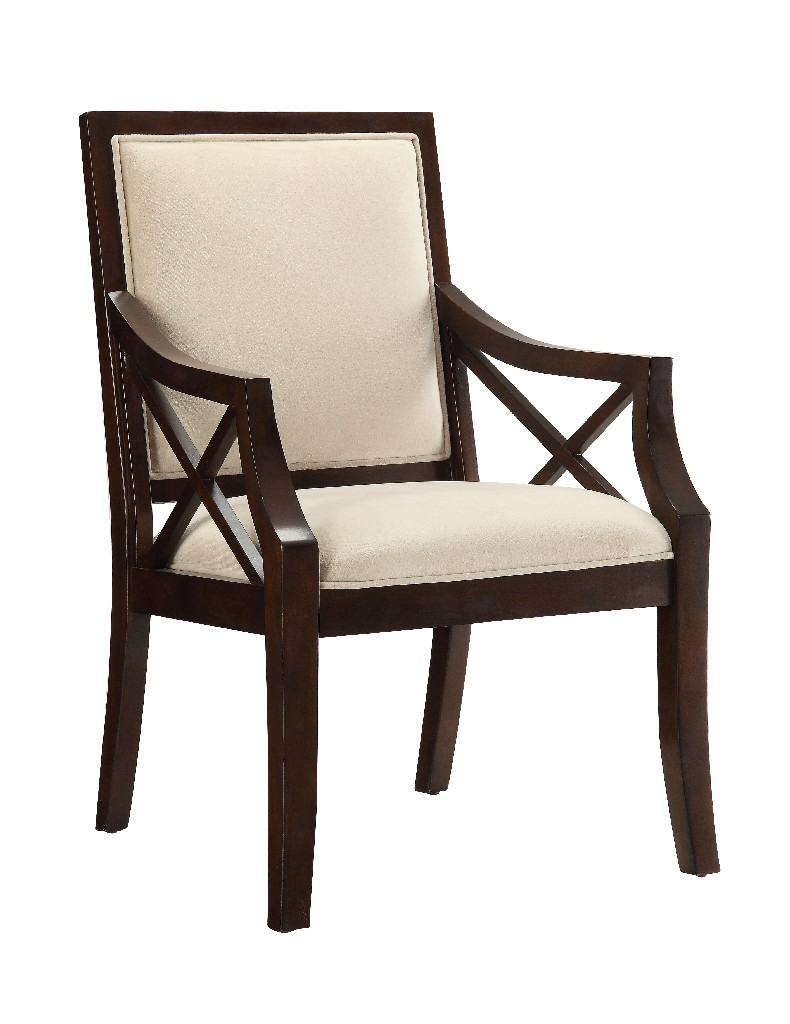 Accent Chair in Brown Cherry - Coast to Coast 21129