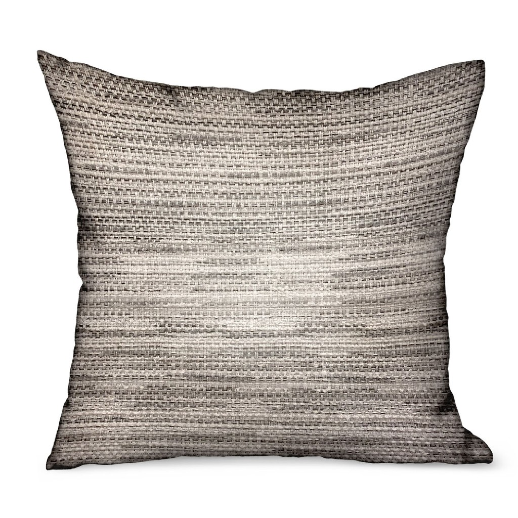 Plutus Weave Throw Pillow Photo