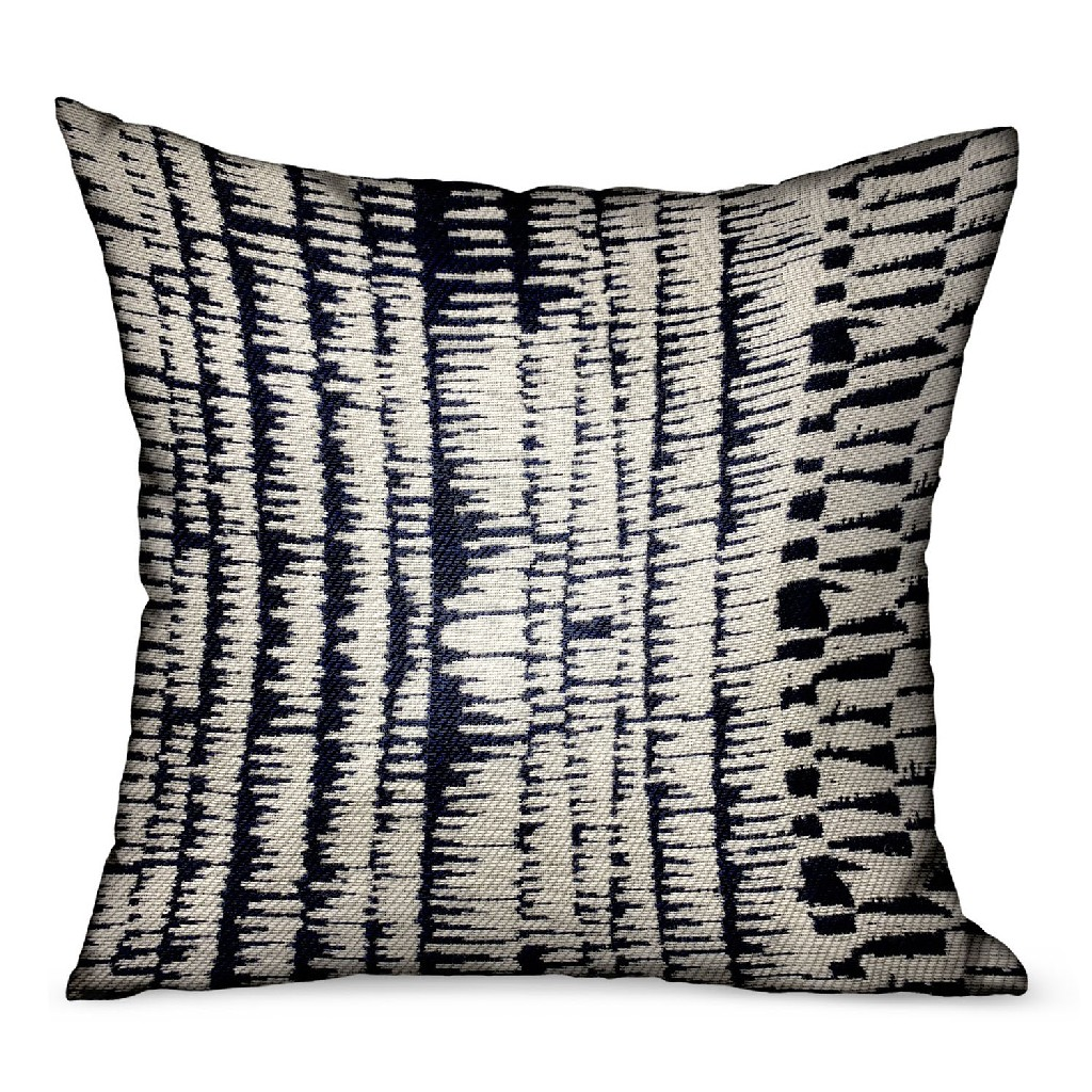Radiant Beryl Blue Abstract Luxury Outdoorindoor Throw Pillow Plutus Pbrao114 1616 Dp