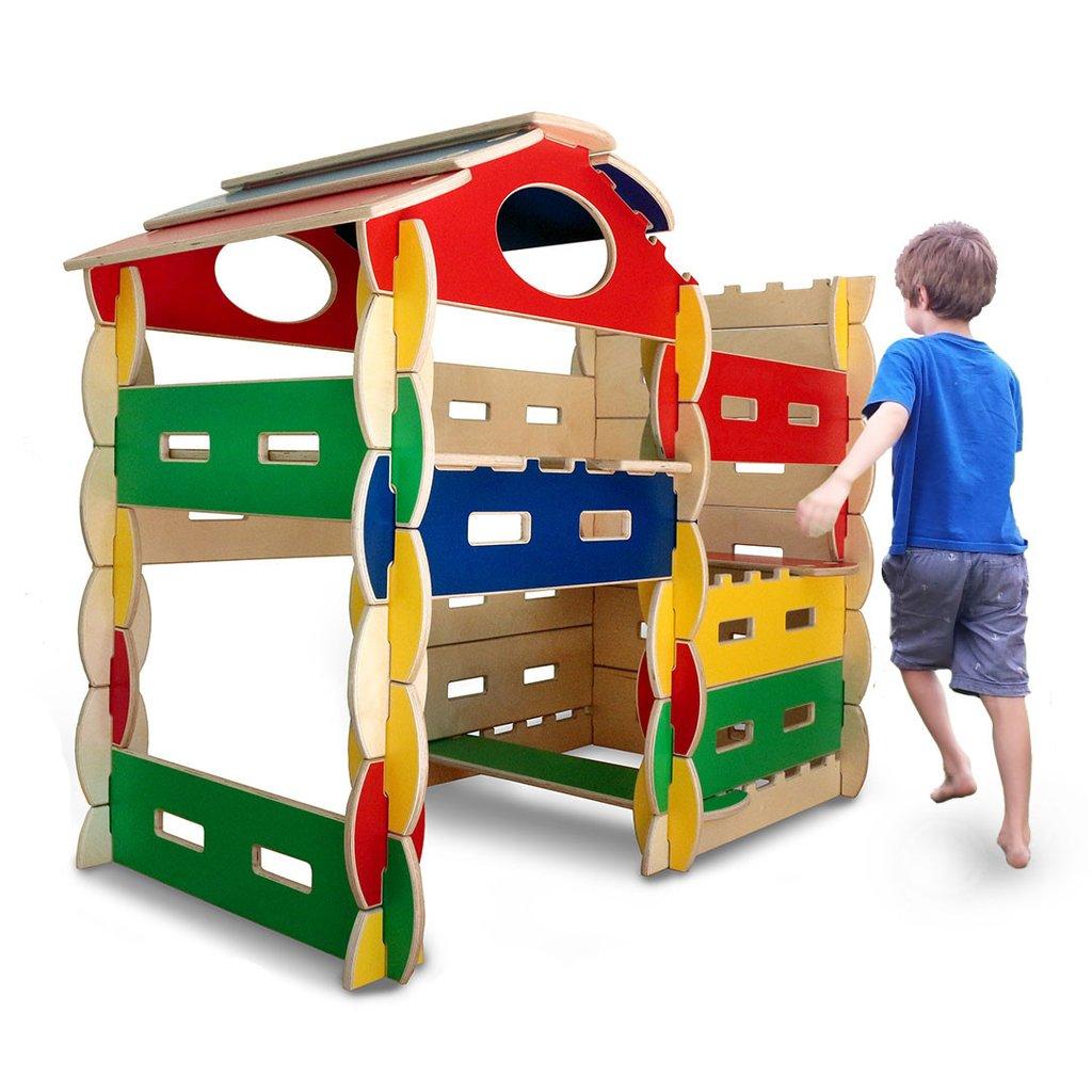 Architectural Building Play Set 58 Pc. - Bilderhoos 1858