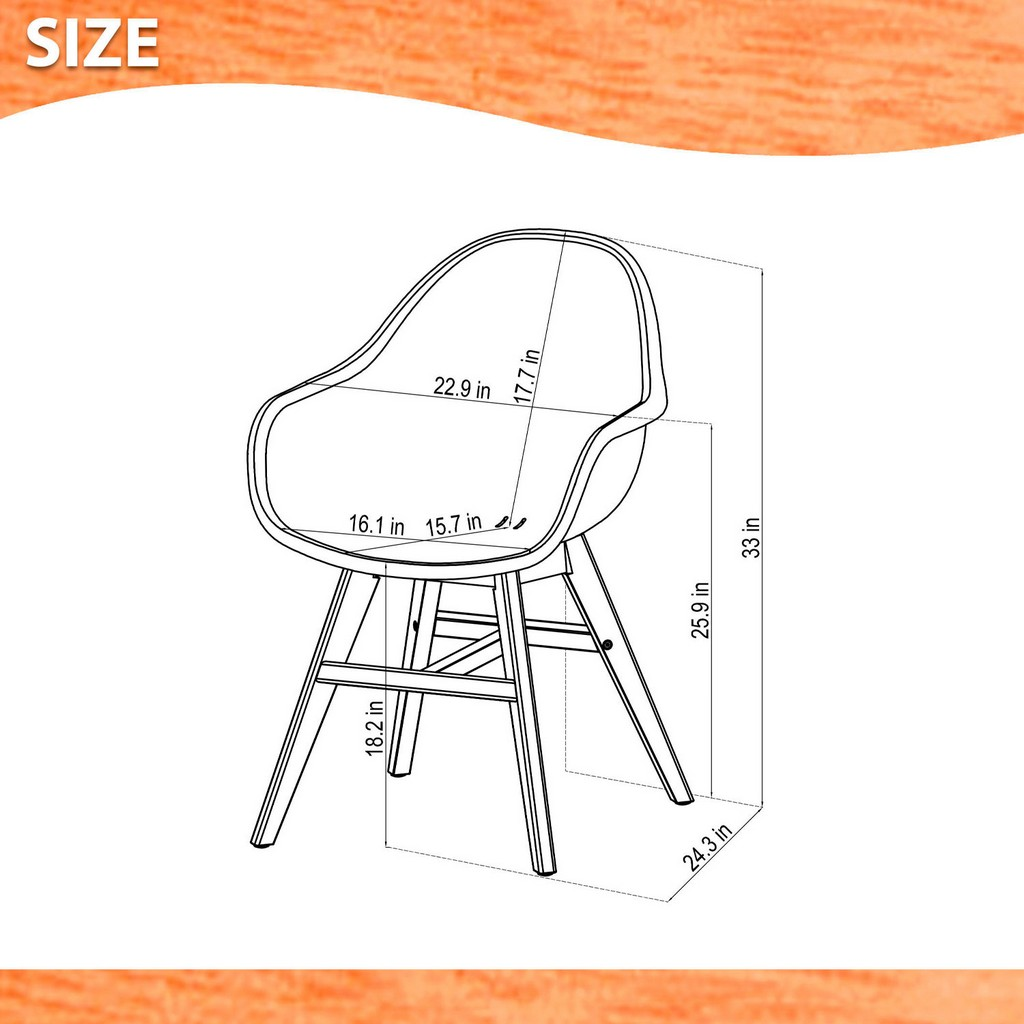 Amazonia 2-Piece Chairs Set - International Home SC 2CONCARM WH_WH LOT