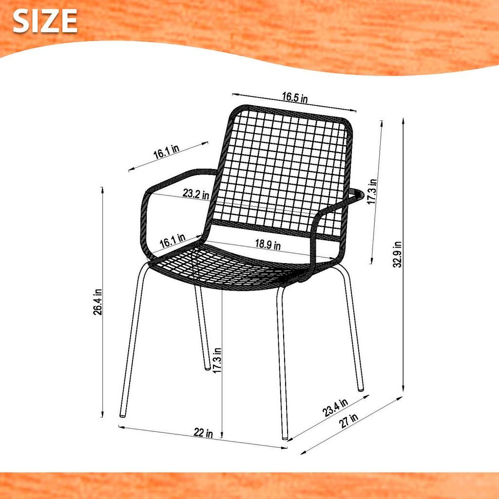 Amazonia 2-Piece Chairs Set - International Home SC 2OBERON GR