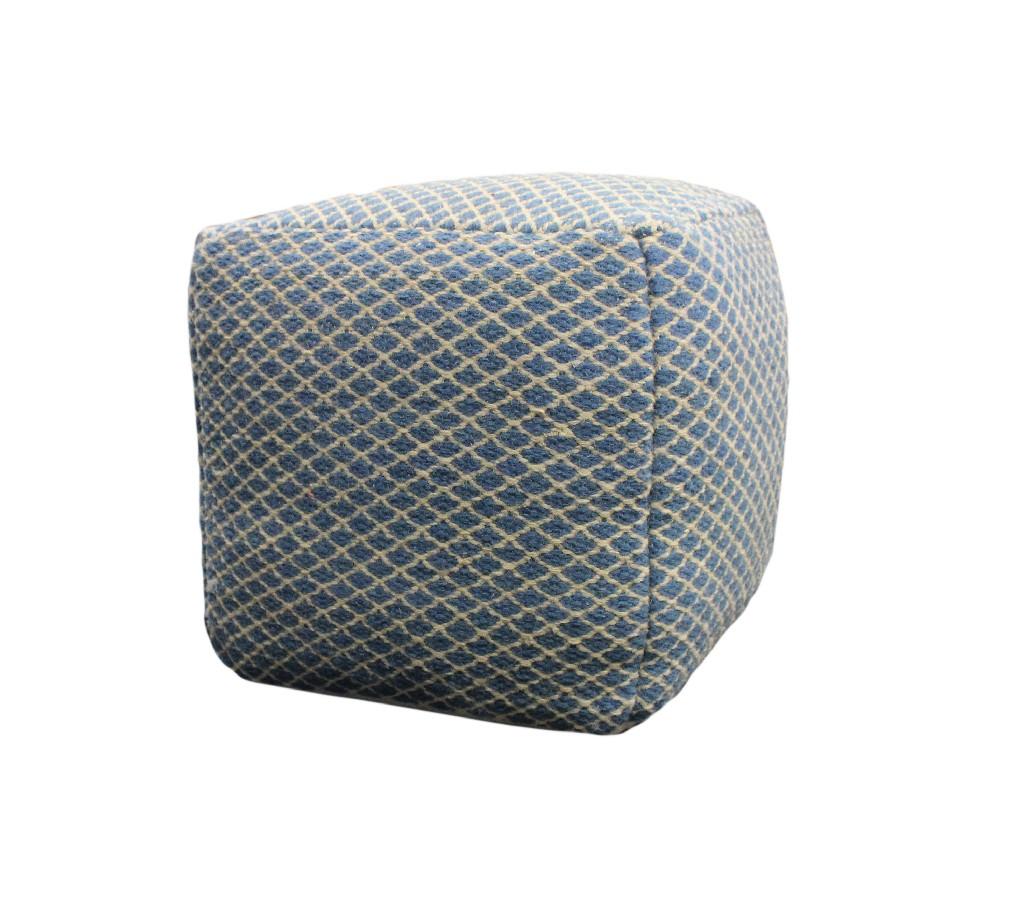 Blue Pouf in Blue - MEVA 54011007