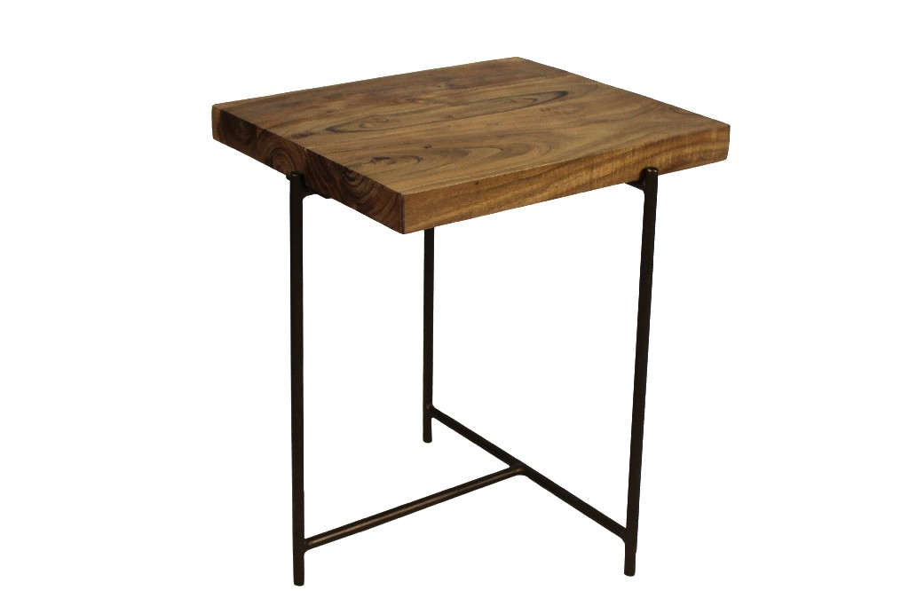 Austin End Table in Natural - MEVA 72004005