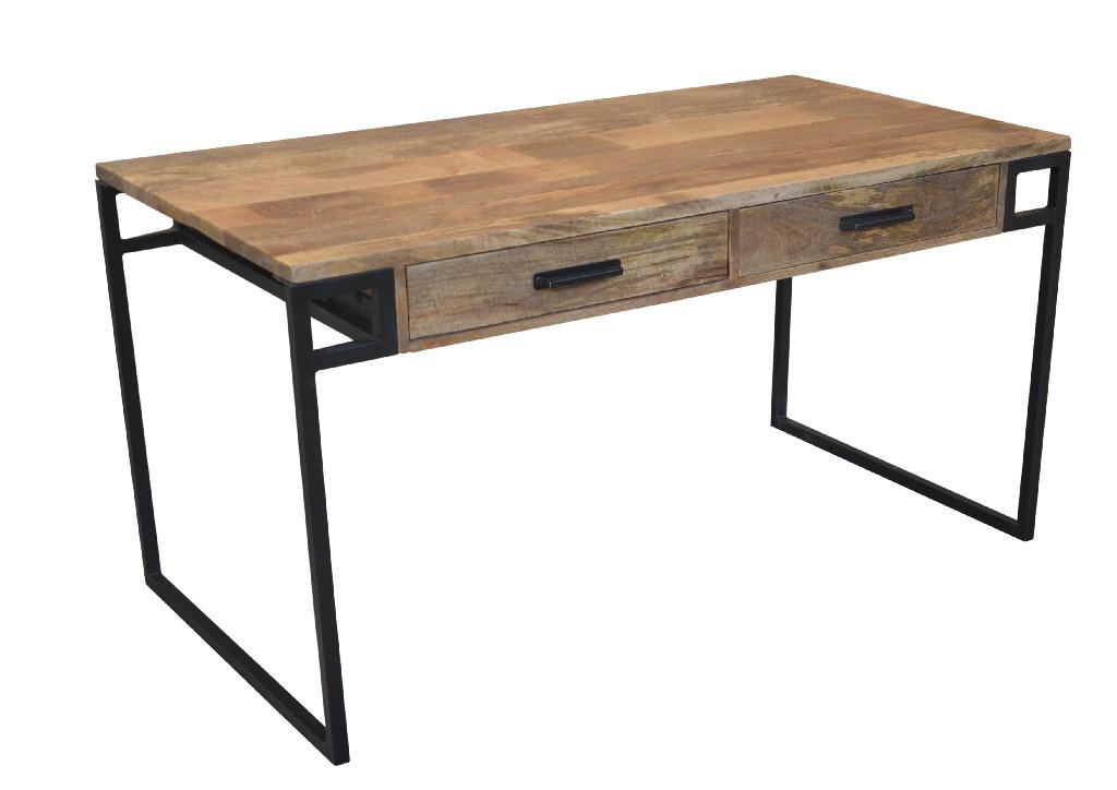 Kay Desk - 2 Drawers in Natural - MEVA 72007004