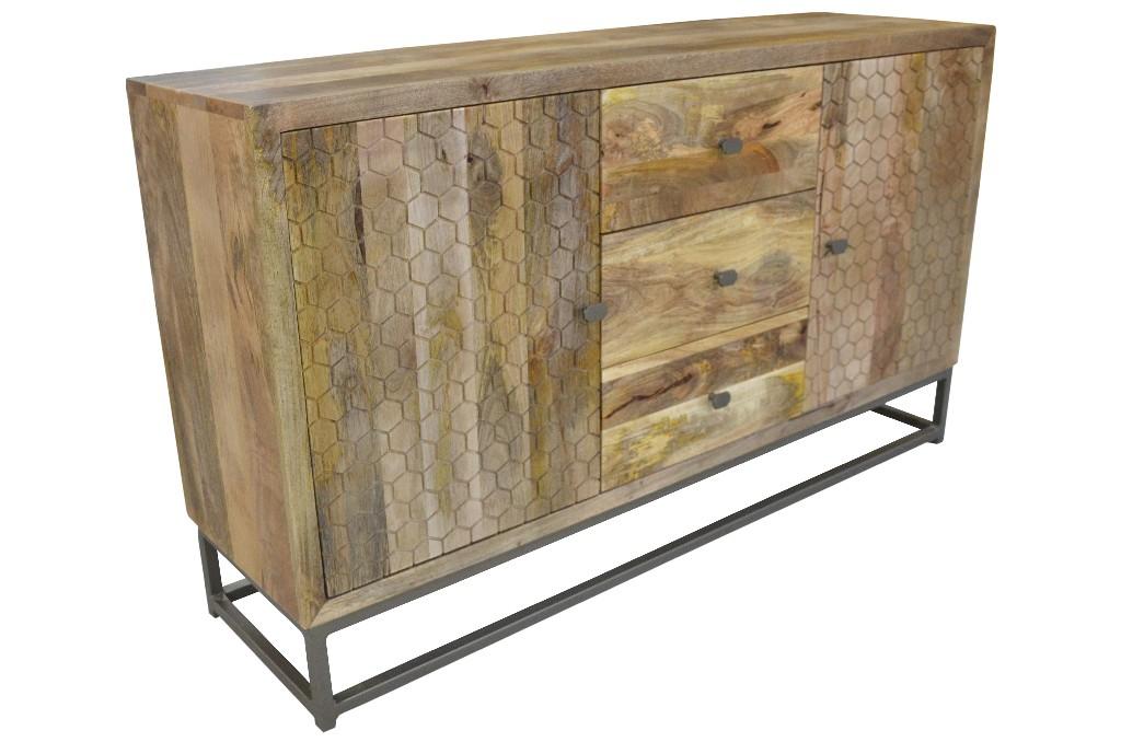 Honeycomb Sideboard in Natural - MEVA 72118001