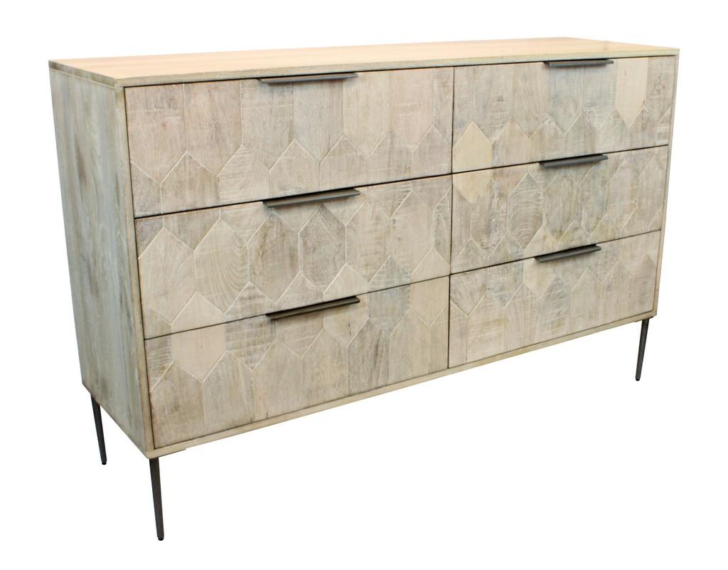 Ren 6 Drawer Dresser - MEVA 75116001 Image