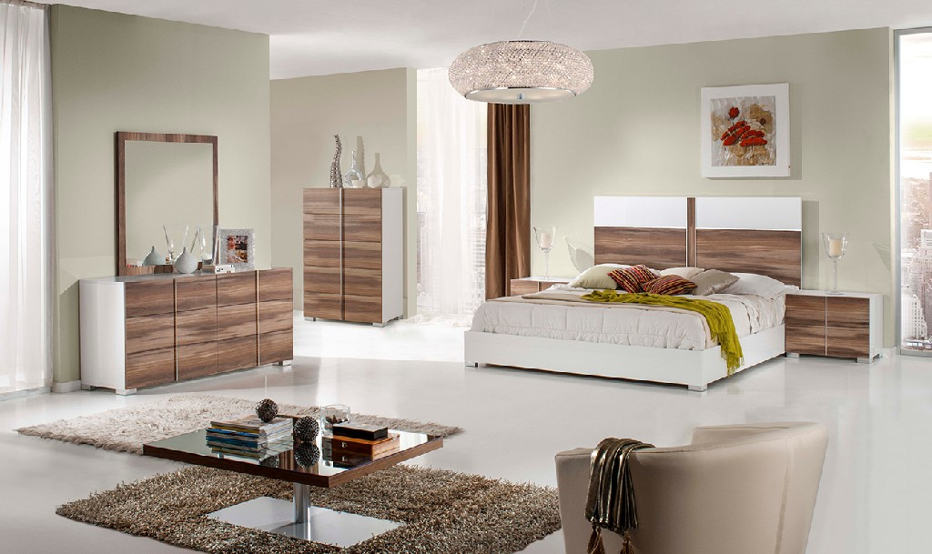 White Cherry Bedroom Set