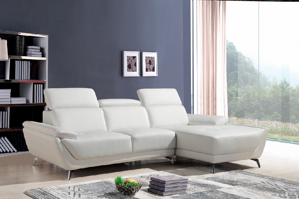 Vig Sectional Leather Sofa