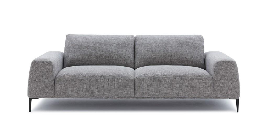 Divani Casa Arthur Modern Grey Fabric Sofa - VIG Furniture VGCF550-FH10A-3
