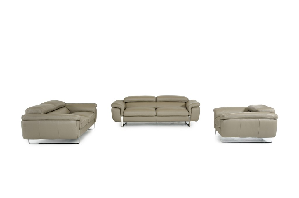 Highline Leather Sofa Set