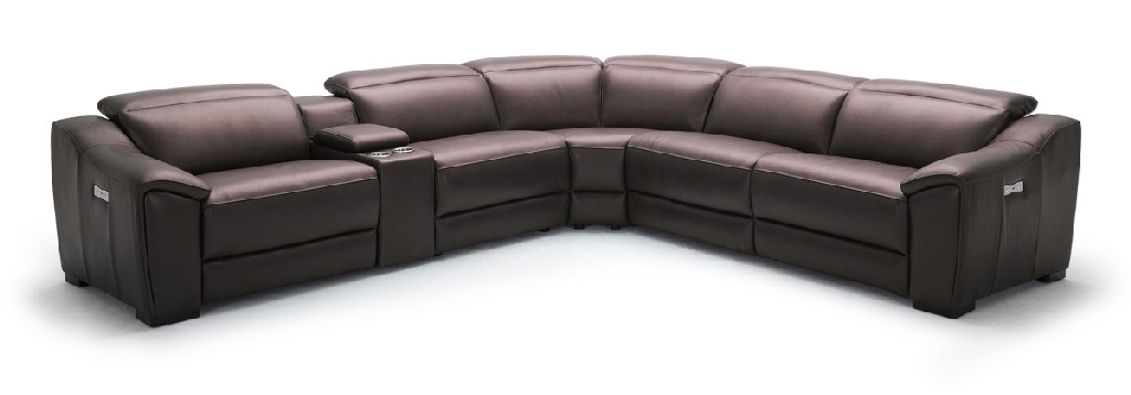 Gentry Leather Sectional Sofa Recliners