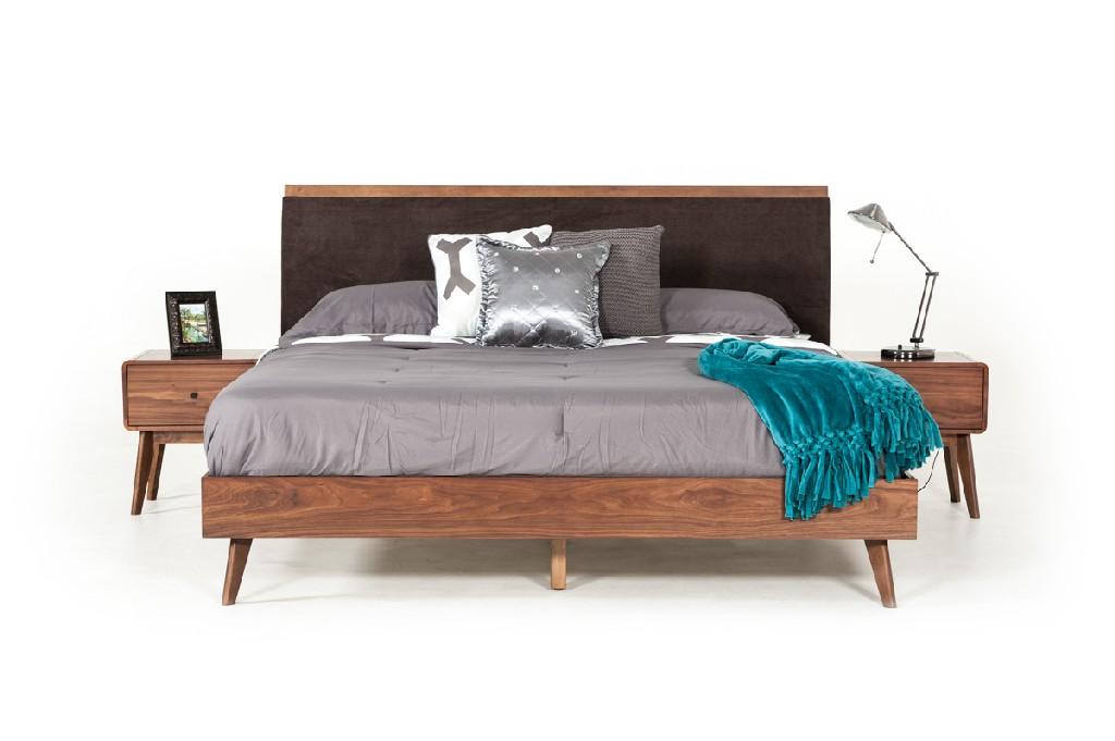 Vig Walnut Bed