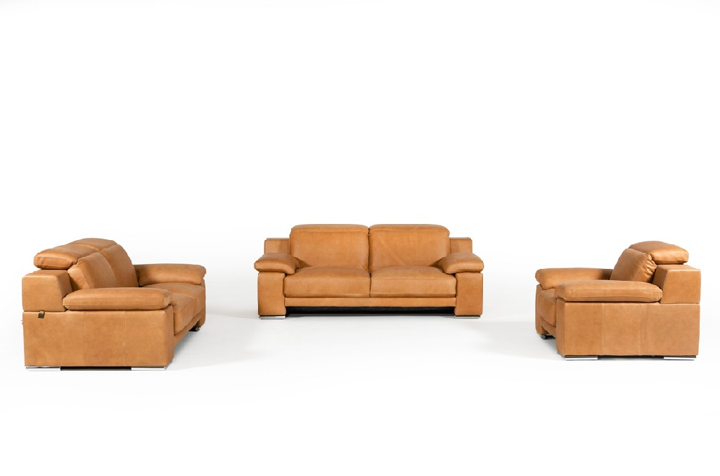 Evergreen Leather Sofa Set