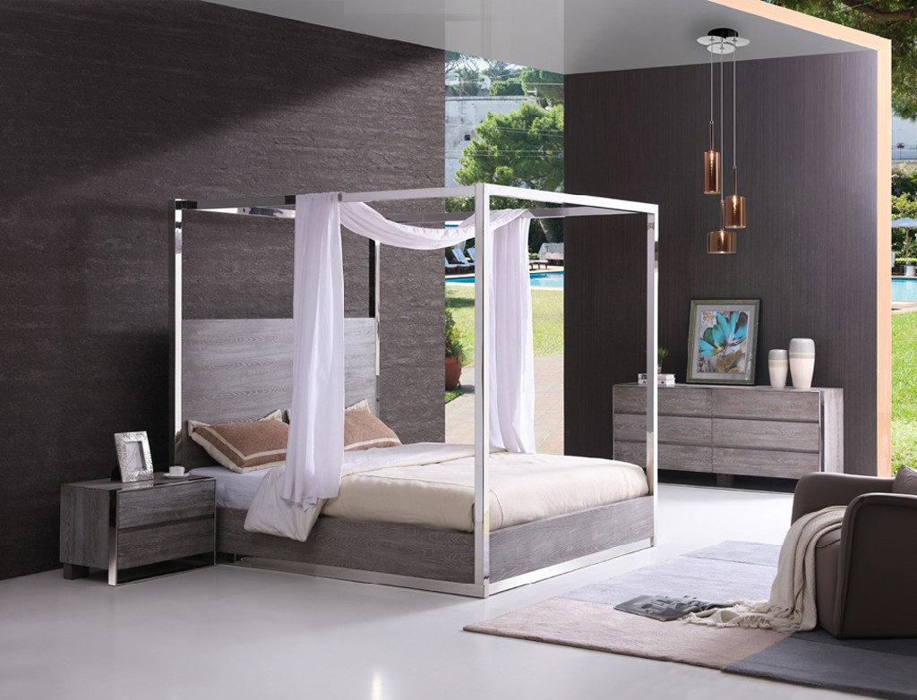 Stainless Steel Bedroom Set