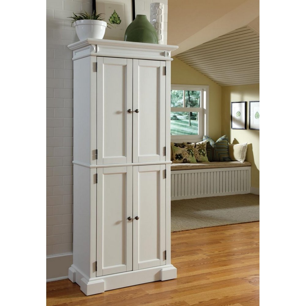 Americana White Pantry - Homestyles Furniture 5004-692