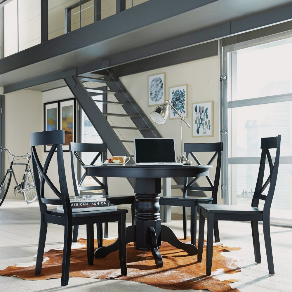 Homestyles Furniture Dining Set Black Photo