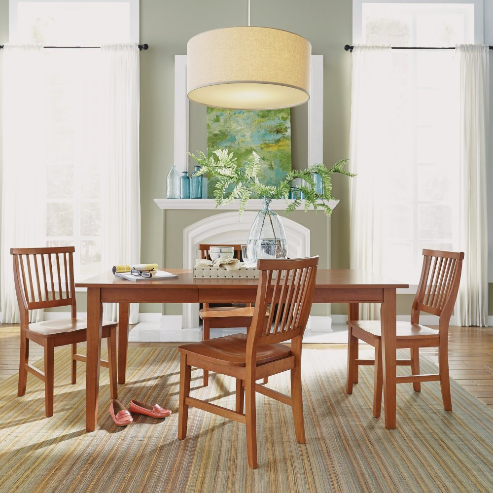 Rectangular Dining Set Oak