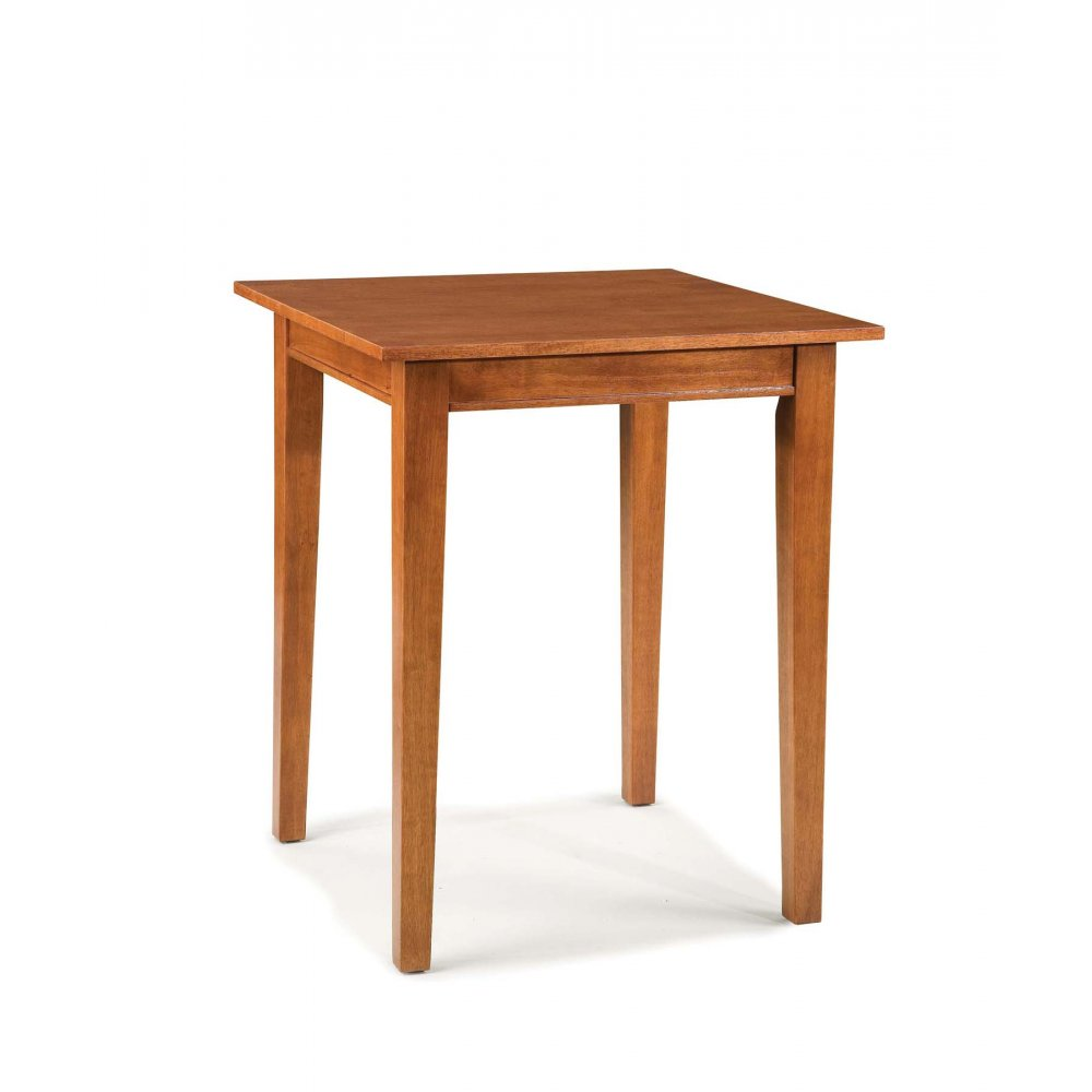 Arts and Crafts Bistro Table Cottage Oak Finish - Homestyles Furniture 5180-35