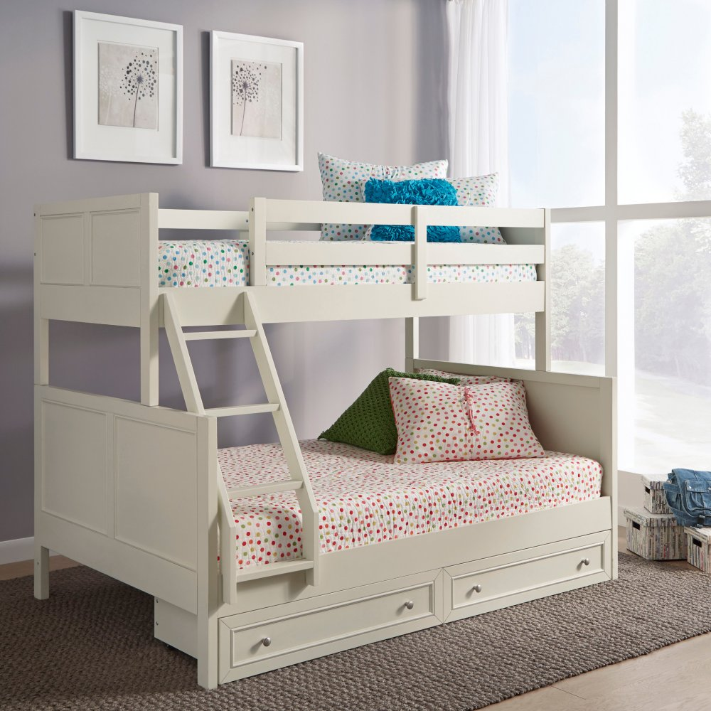 Twin Bunk Bed Storage Drawers